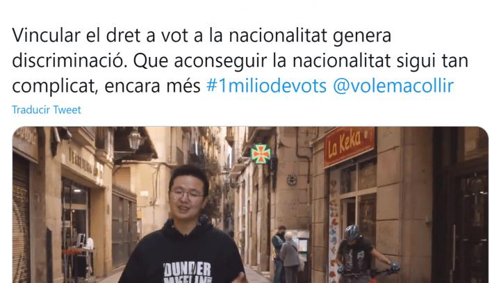 Derecho de sufragio activo de los extranjeros en España