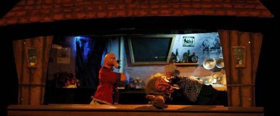 [Vídeo] La obra 'La Bruja y Don Cristóbal', de Títeres desde Abajo