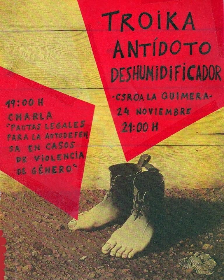 24 de noviembre taller sobre pautas jur dicas de autodefensa en casos de violencia de g nero - Casos de violencia de genero ...