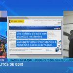 Hablamos sobre delitos de odio en el programa de Klaudio Landa (ETB)