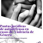 """27 de octubre: Charla """"Pautas jurídicas de autodefensa en casos de violencia de género"""""""