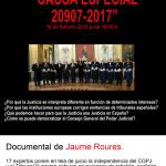 19 de febrero: Proyección del documental 'Causa especial' + coloquio