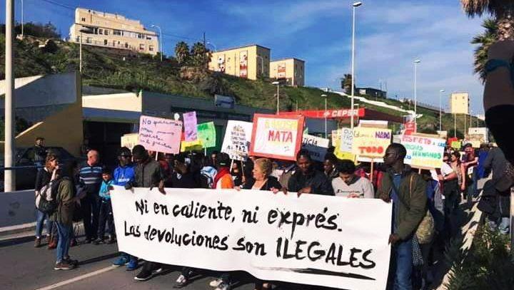 Crónica de la VI Marcha a la Frontera de El Tarajal (Ceuta)