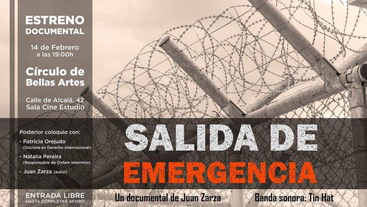 14 de febrero: Presentación del documental 'Salida de Emergencia' + coloquio