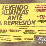 27 de marzo: Tejiendo alianzas frente a la represión