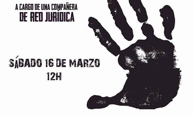 16 de marzo: Taller «Pautas Legales para la Autodefensa Jurídica en casos de Violencia de Género»