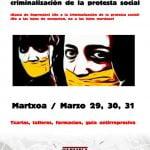 Comentarios a la Ley Mordaza (Jornadas contra la represión y la criminalización de la protesta social en Santutxu)