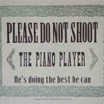 Por favor, no disparen al abstencionista