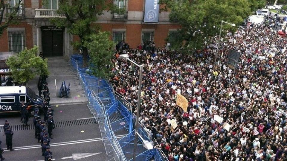 Absuelta una persona por los hechos de la huelga general del 29M de 2012 y otra por la manifestación del 25S de 2012
