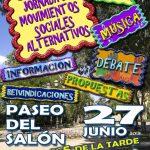 27 de junio: Jornada de movimientos sociales en Segovia