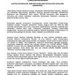 22 de octubre: Rueda de prensa sobre la presentación de la querella por el Caso Freytter (Bilbao)