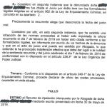 La Audiencia Provincial de Madrid anula la condena de una acusada porque considera que no se ha probado que fuera citada a juicio