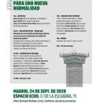 """24 de septiembre: Jornada """"País Vasco: Una nueva política penitenciaria para una nueva normalidad"""""""