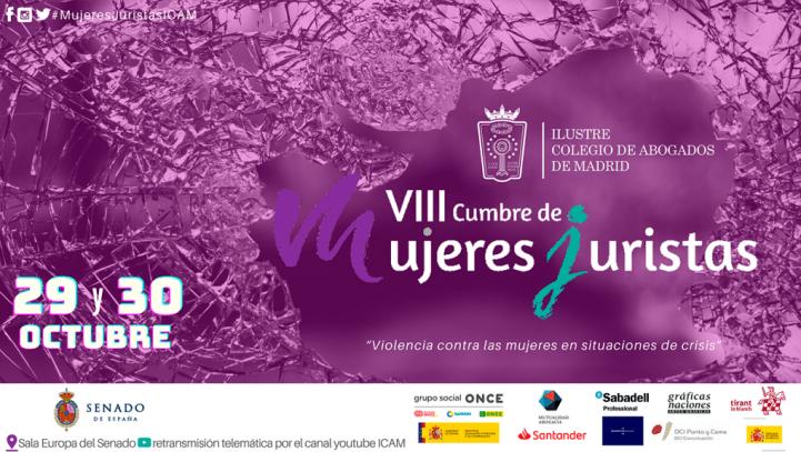 29 y 30 de octubre: VIII Cumbre de Mujeres Juristas