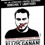 """Juristas y organizaciones de derechos humanos alertan sobre el encarcelamiento de Pablo Hasél por un """"delito de expresión"""""""