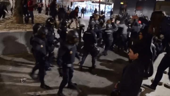Absuelta una mujer detenida en 2015 en una concentración en solidaridad con las detenidas en la Operación Piñata