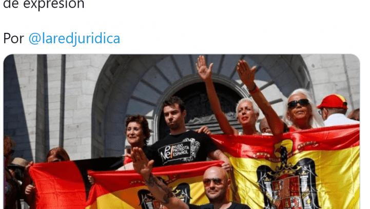 El enaltecimiento del franquismo y los delitos de expresión