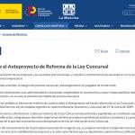 El Anteproyecto de Reforma la Ley Concursal: objetivo y cambios principales