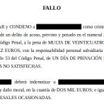 Condenado por delito de acoso un hombre por enviar múltiples e-mails con insultos